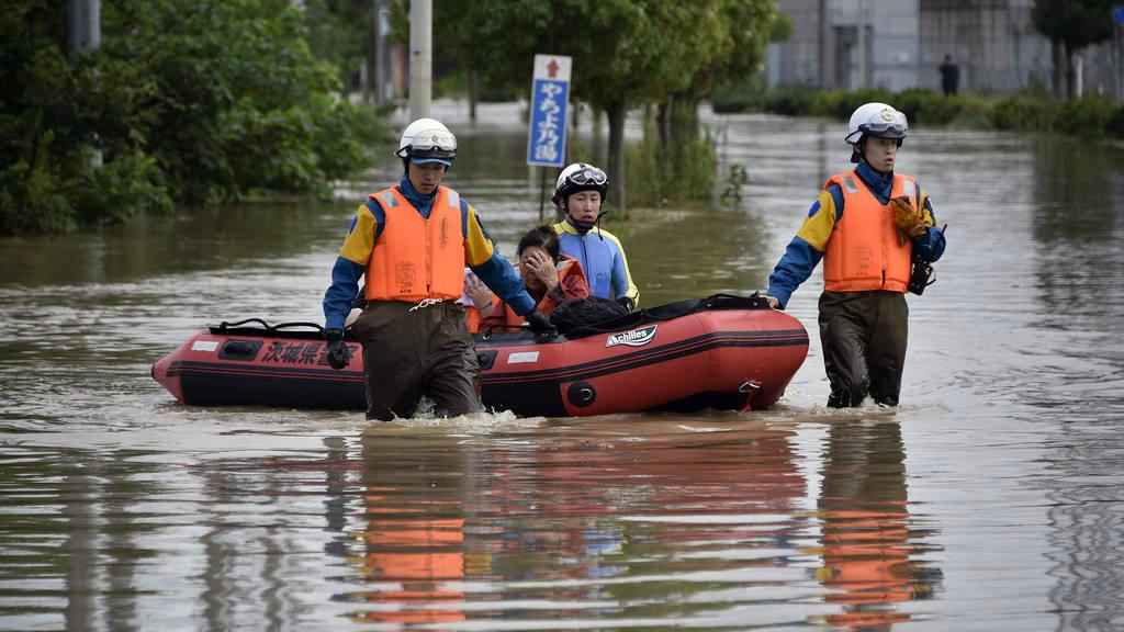 Precipitaciones en Japón