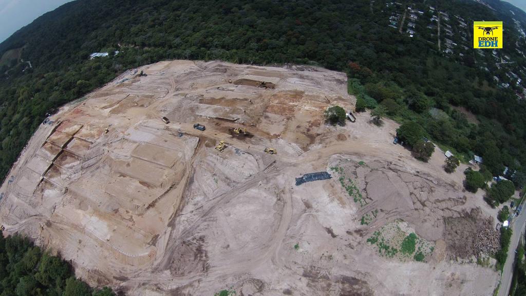 Deforestan finca por proyectos de vivienda en Nuevo Cuscatlán