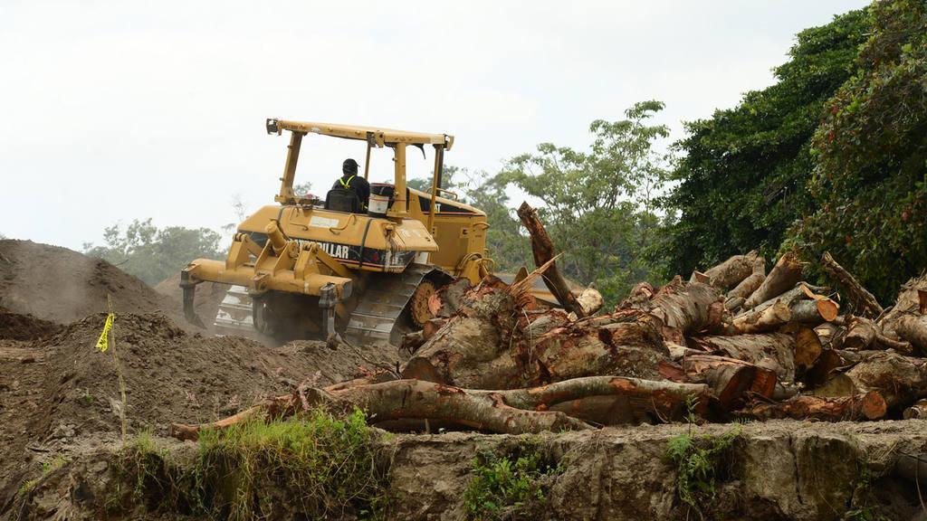 Deforestación Nuevo Cuscatlán