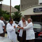 Médicos tras audiencia de nefrólogo
