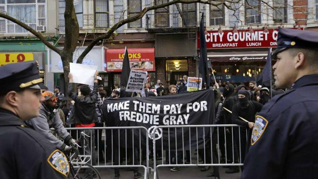 Caso Freddie Gray en Baltimore