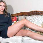 La modelo con las piernas más largas del mundo
