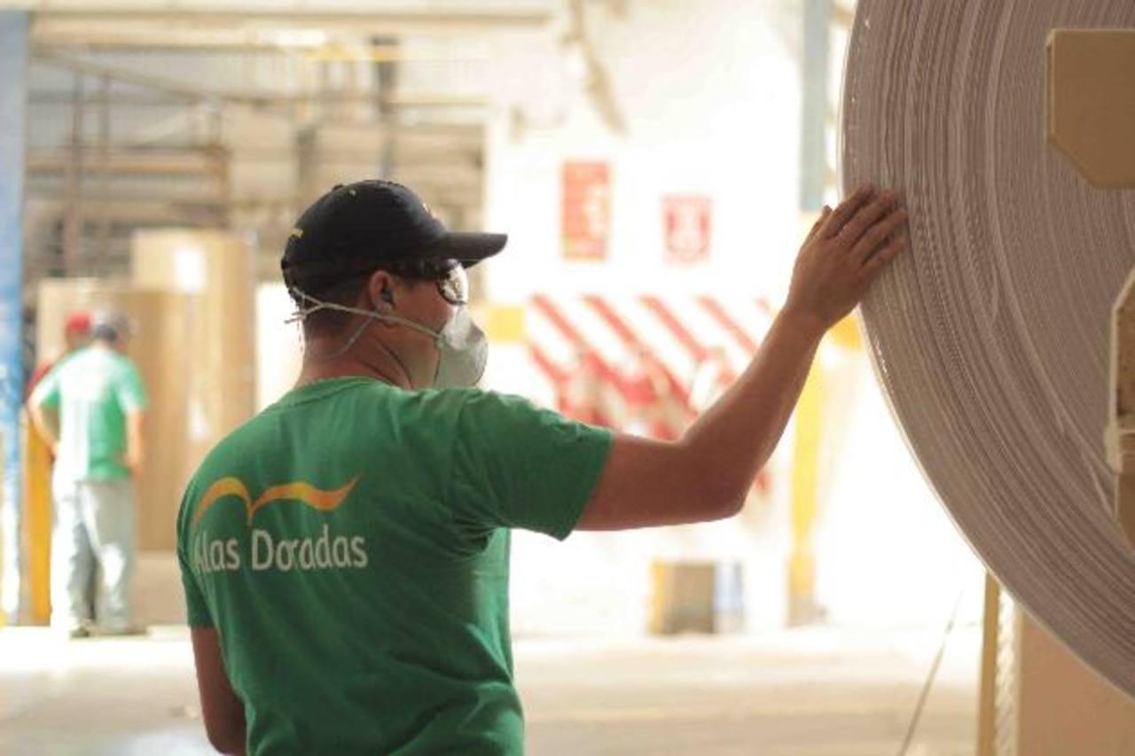 Alas Doradas es una empresa que ha hecho una apuesta estratégica de negocios por producir papel higiénico y papel toalla de fibra de papel 100 % reciclada. El 90 % de la fibra de papel reciclado es importada y el restante 10 % es compra local. Desean