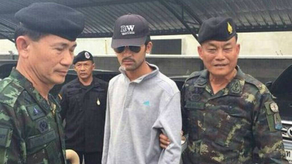 Sospechoso de atentado en Bangkok