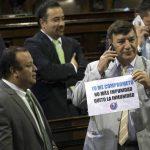 Congreso decide sobre inmunidad de Otto Pérez