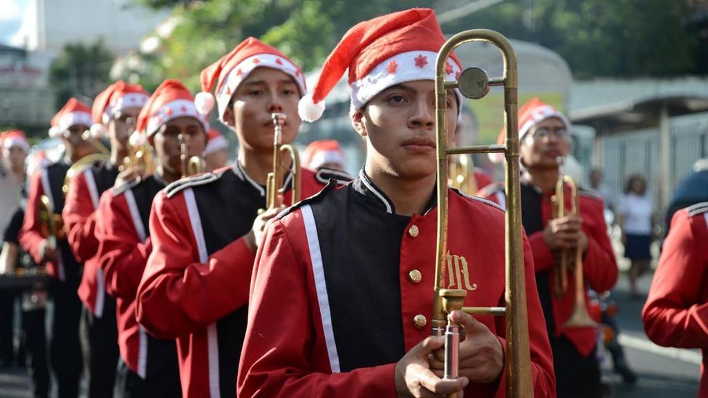 Desfile navideño