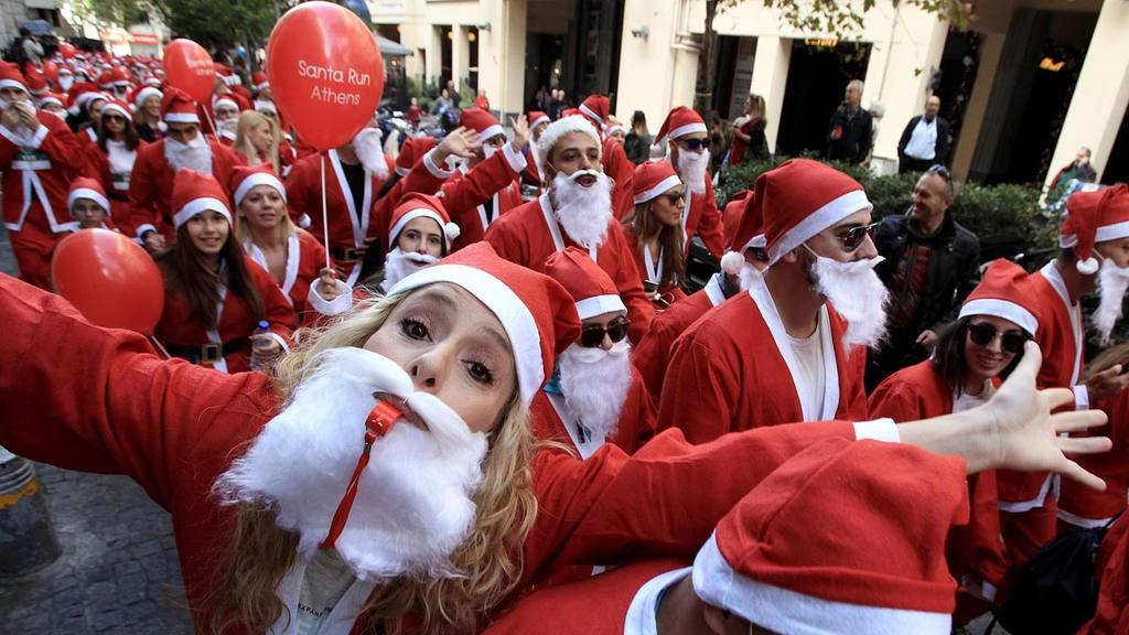 Santa Claus benéficos