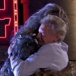 Harrison Ford salva a Chewbacca de un suicidio
