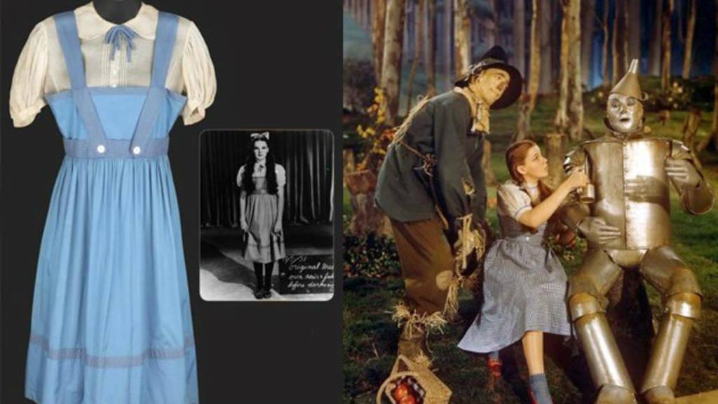 Vestido de Dorothy es subastado por más de un millón de dólares