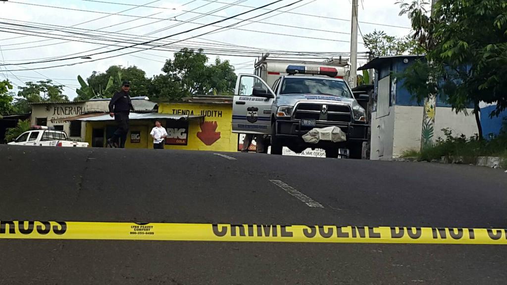 Agente del CAM asesinado en Apopa