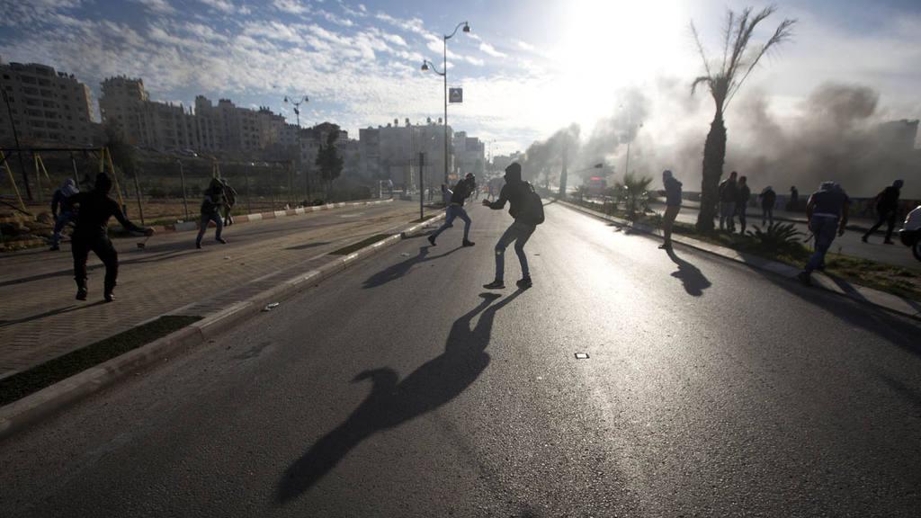 Enfrentamientos en Cisjordana