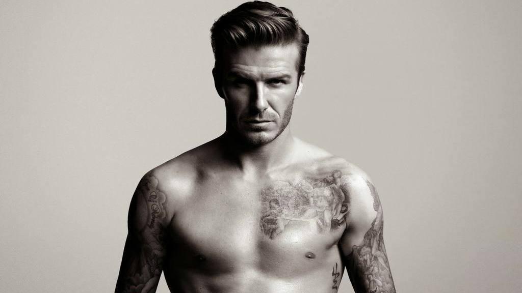 David Beckham el hombre más sexy