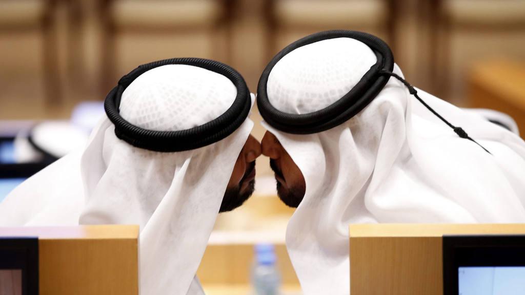Saludo en Emiratos