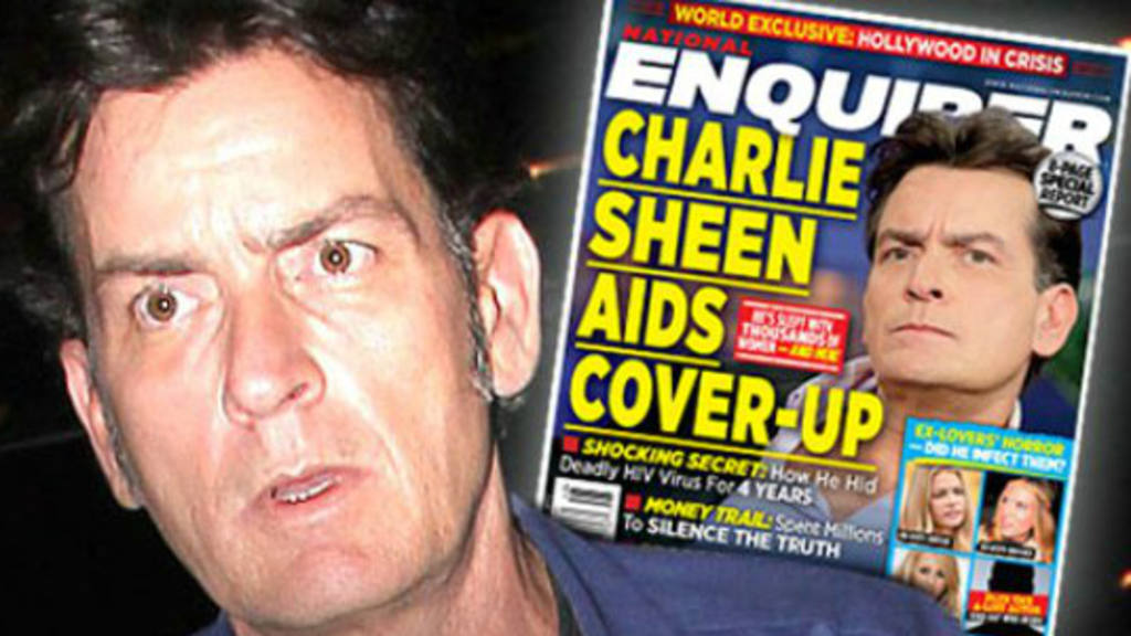 Charlie Sheen revelará mañana que es portador de VIH