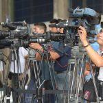 Periodistas, camarógrafos, reporteros