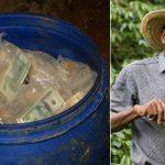 José Mariena Cartolos, un agricultor colombiano,