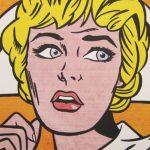"""Obra de Lichtenstein """"Enfermera"""""""