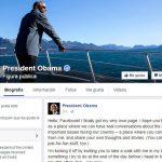 Obama abre una página personal de Facebook