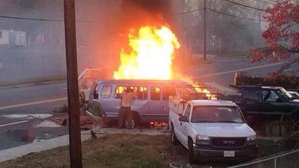 Accidente en Maryland