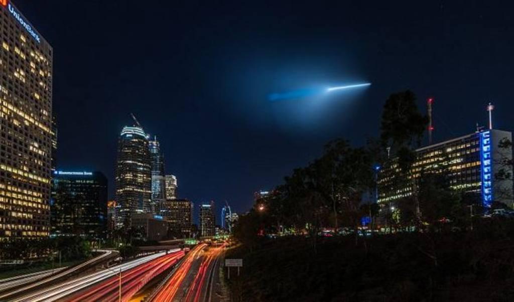 Aclaran el misterio de la extraña luz en cielo de EE.UU.