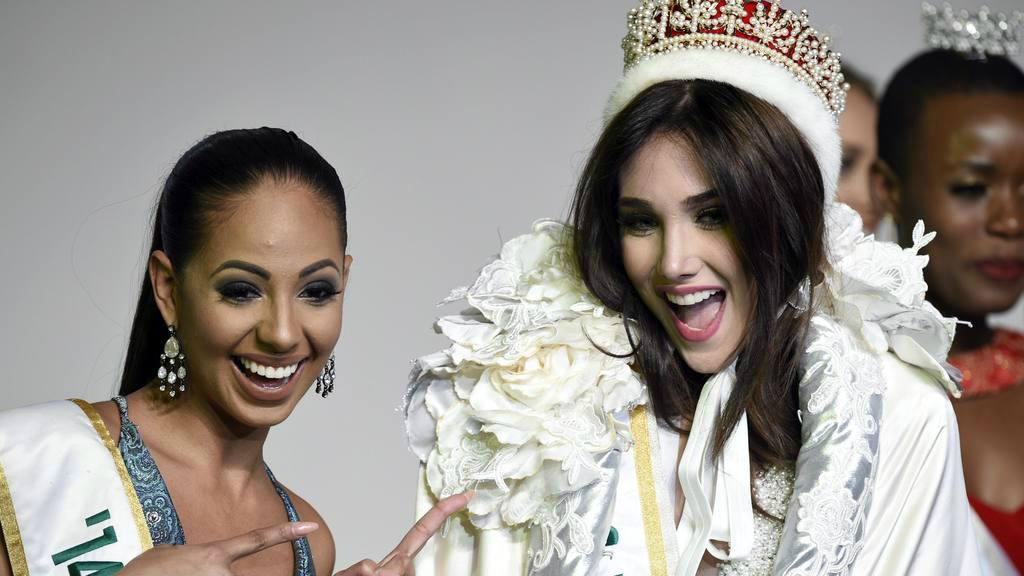 Candidata de Venezuela se corona Miss Internacional 2015