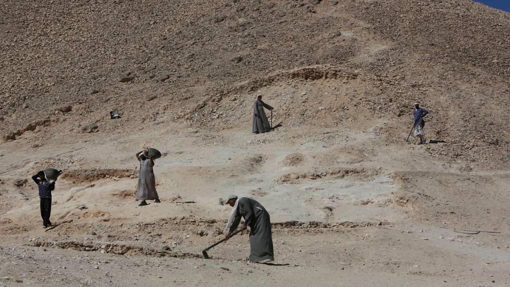 Excavaciones en Egipto