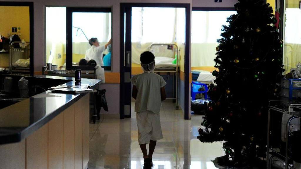Unidad de niños quemados en Hospital Bloom