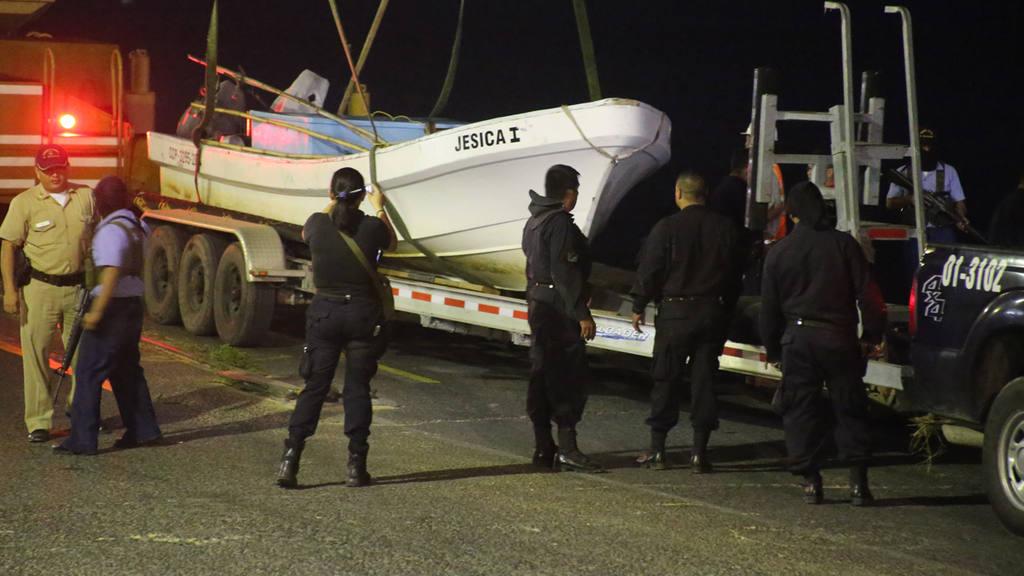 Cocaína  incautada el 26 de diciembre a 90 millas náuticas al sur de Acajutla