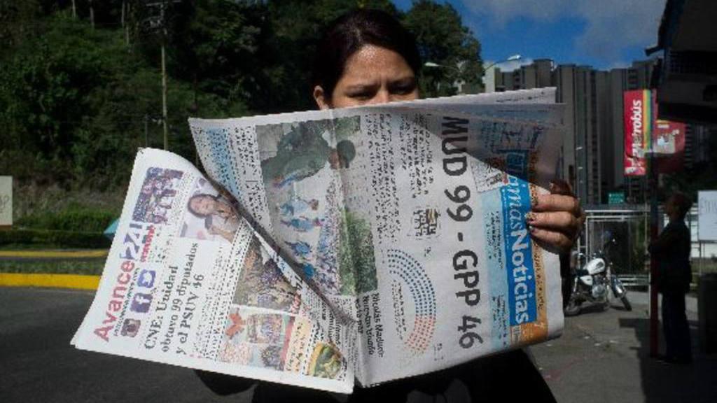 Oposición gana elecciones legislativas en Venezuela