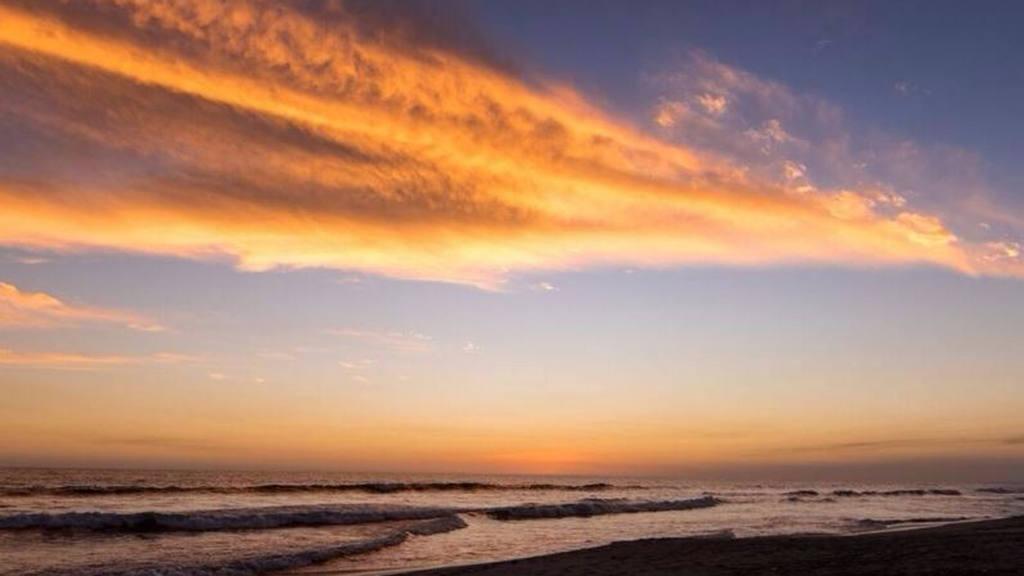 Una serie de imágenes de atardeceres en las bellas playas salvadoreñas.