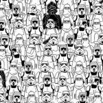 El nuevo desafío: encuentra el oso panda entre personajes de Star Wars