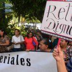 Protesta de maestros.