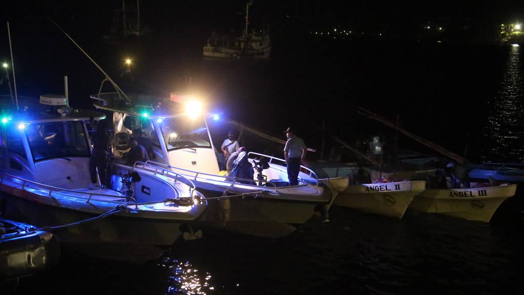 Cuatro narcolanchas fueron decomisadas a 90 millas náuticas al sur de Acajutla.