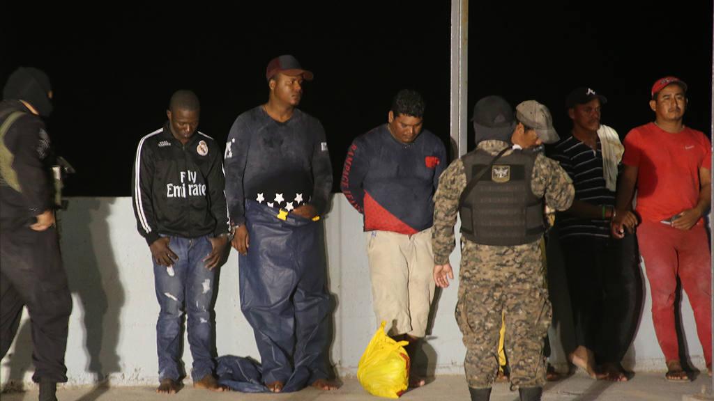 cuatro narcolanchas y 30 bultos de cocaína valorados en $16 millones.