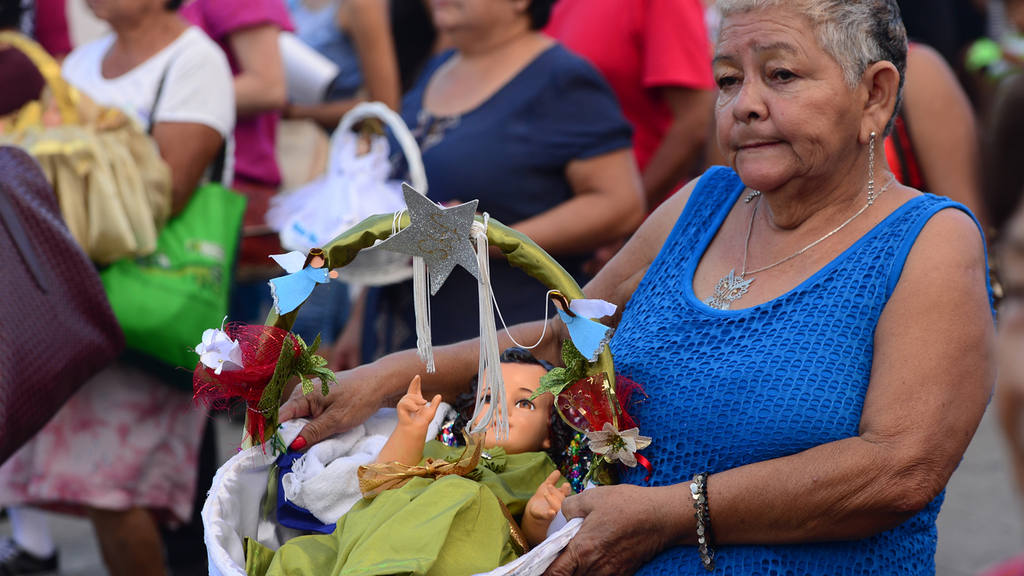Los rostros de los Santos Niños Inocentes