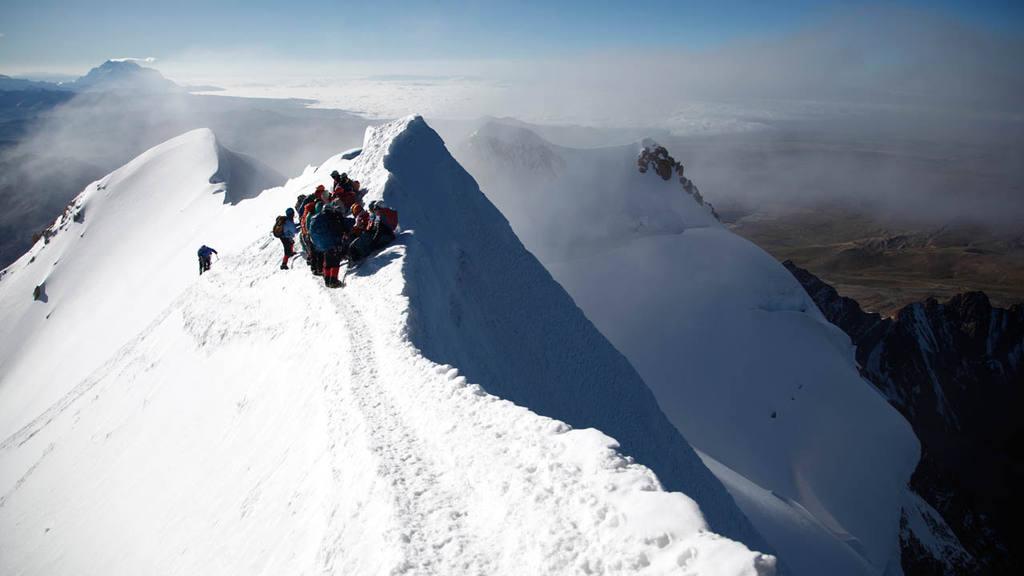montaña Huayna Potosí