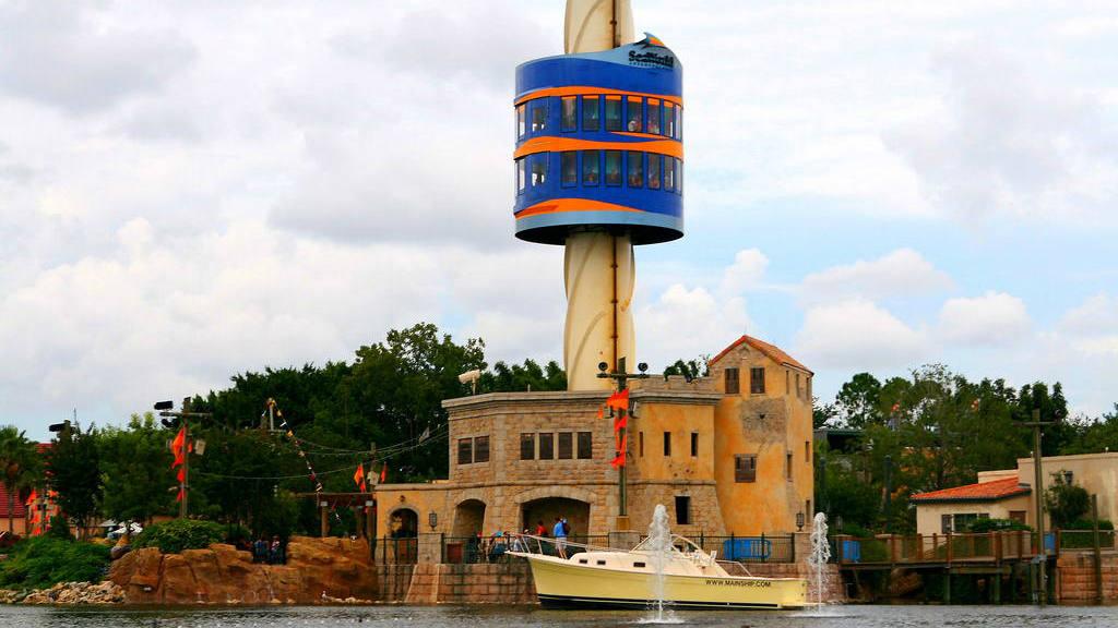 Sky Tower, SeaWorld