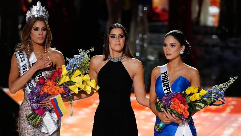 Former Miss Universe Paulina Vega