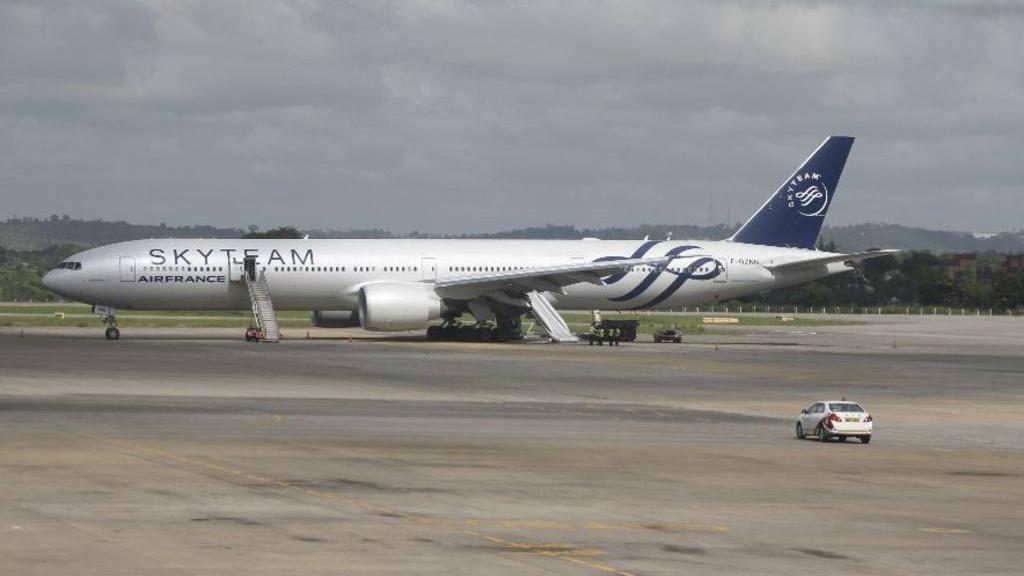 Falsa alarma de bomba en avión de Air France