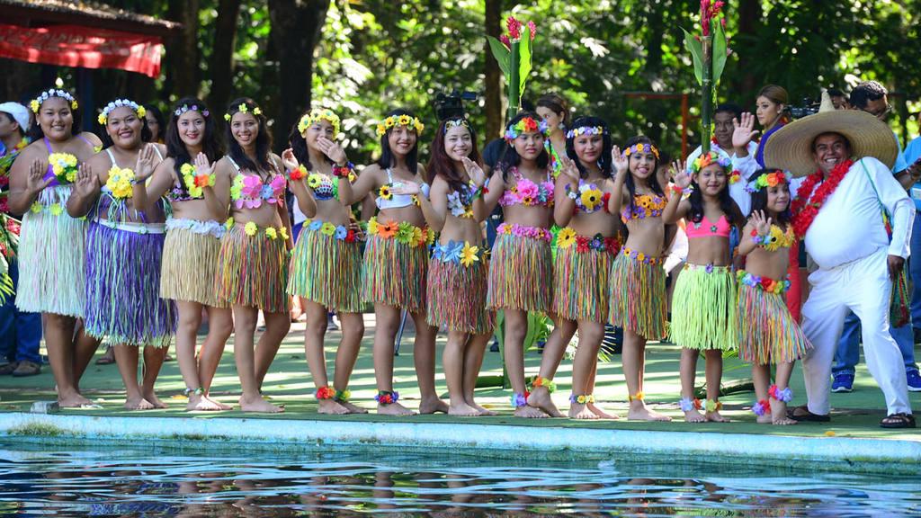 Festival Hawaiano 2015 en Ichanmichen