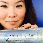 Empresa canadiense le vende aire embotellado a China