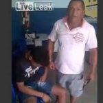 Roba celulares y dinero y así lo castigó su padre