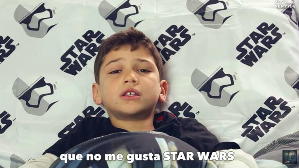 "Musical ""No me gusta Star Wars"" se viraliza"