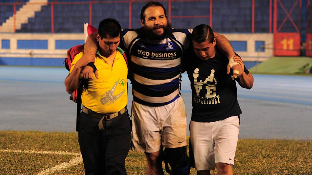 Rugby deporte nacional, Estadio Flor Blanca.