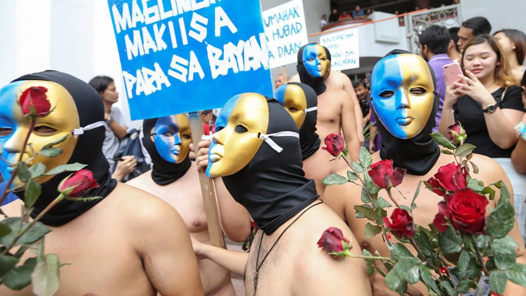 University of the Philippines APO fraternity naked run