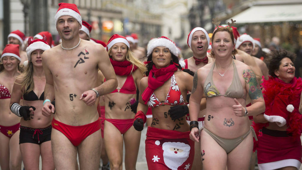 Santa Race in Budapest