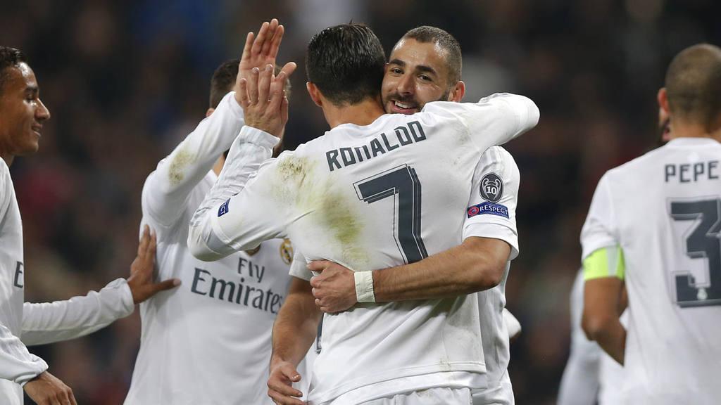 Karim Benzema, Ronaldo