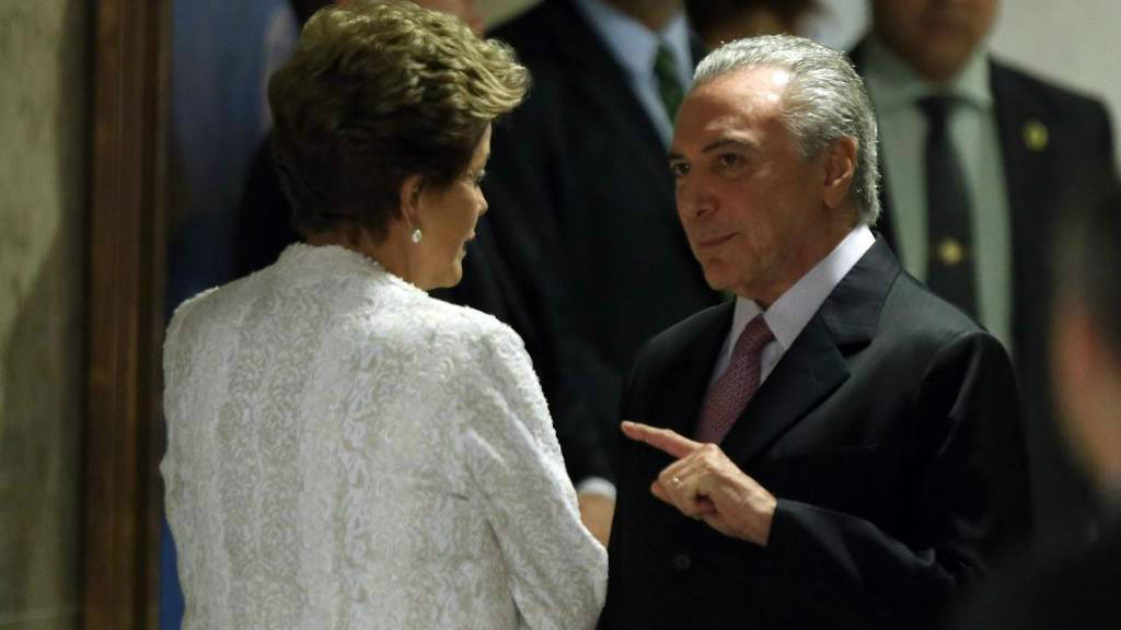 Carta del vicepresidente de Rousseff sacude Brasil