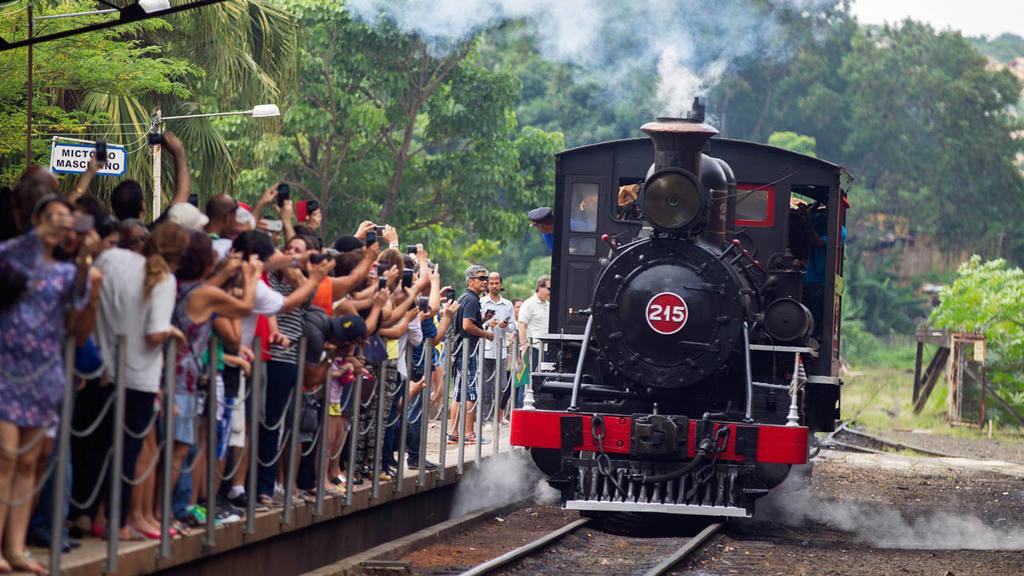 Trenes en Brasil