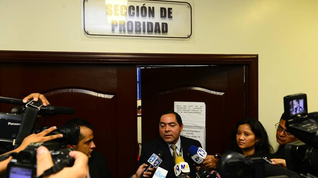 Carlos Pineda, director de la sección de Probidad